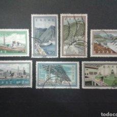 Sellos: SELLOS DE GRECIA. YVERT 763/9. SERIE COMPLETA USADA.. Lote 71150017
