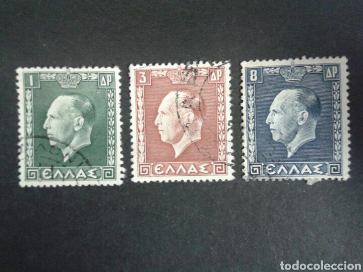 SELLOS DE GRECIA. YVERT 417/9. FALTA 420.. SERIE CORTA USADA. (Sellos - Extranjero - Europa - Grecia)