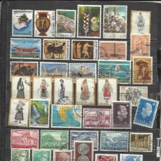 Sellos: G117-LOTE SELLOS GRECIA SIN TASAR,SIN REPETIDOS,ESCASOS. -GREECE STAMPS LOT WITHOUT PRICING WITHOUT . Lote 80377857