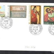 Sellos: GRECIA, GRECE, GREECE, 1981, YVERT 1447-1452.. Lote 105782031