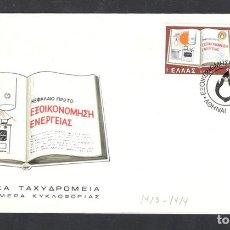 Sellos: GRECIA, GRECE, GREECE, 1980, YVERT 1387-1388.. Lote 105782104