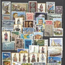 Sellos: Q836-LOTE SELLOS GRECIA SIN TASAR,SIN REPETIDOS,ESCASOS. -GREECE STAMPS LOT WITHOUT PRICING WITHOUT . Lote 107216923