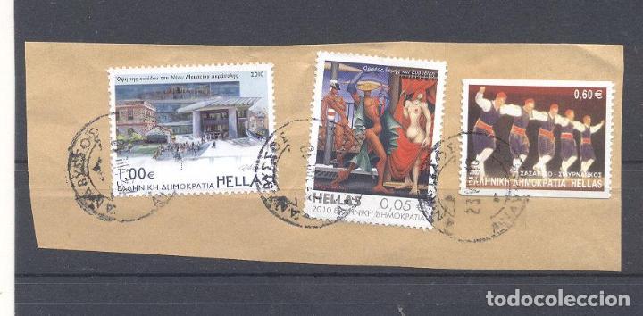 GRECIA, USADOS (Sellos - Extranjero - Europa - Grecia)