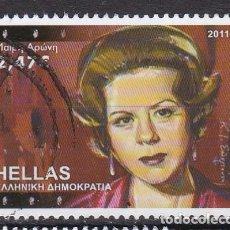 Sellos: GRECIA 2011 - SELLO MATASELLADO. Lote 118386811