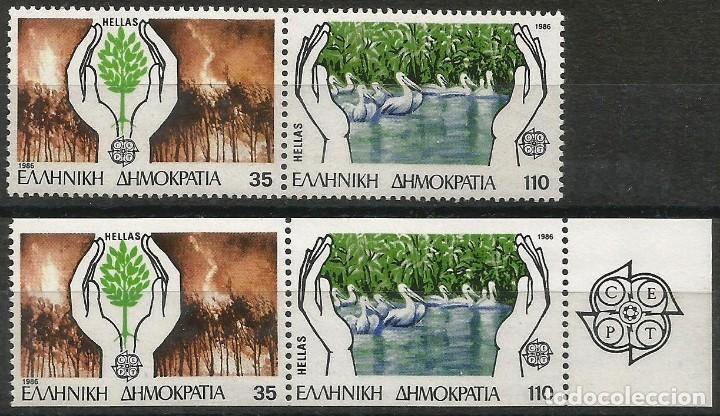GRECIA 1986 - MI 1630A/1631C - EUROPA CEPT - MNH** (Sellos - Extranjero - Europa - Grecia)