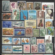 Sellos: G398-LOTE SELLOS GRECIA SIN TASAR,SIN REPETIDOS,ESCASOS. -GREECE STAMPS LOT WITHOUT PRICING WITHOUT . Lote 124256643