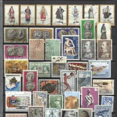 Sellos: G399-LOTE SELLOS GRECIA SIN TASAR,SIN REPETIDOS,ESCASOS. -GREECE STAMPS LOT WITHOUT PRICING WITHOUT . Lote 124256679