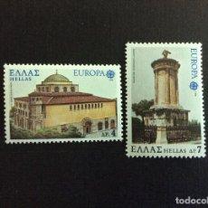 Sellos: GRECIA Nº YVERT 1286/7*** AÑO 1978 EUROPA. MONUMENTOS. Lote 130285890