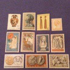 Sellos: COLECCIÓN NUEVOS GRECIA MNH. 14 SELLOS. Lote 136078678