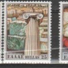 Sellos: GRECIA 1981.CAT.YT.1419/1422.TRES SERIES COMPLETAS.. Lote 146024734