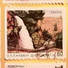 Sellos: GRECIA - HELLAS - PAISAJES Y MONUMENTOS.. Lote 151425398