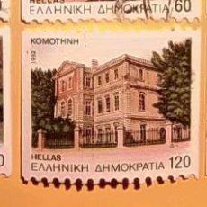 Sellos: GRECIA - HELLAS - PAISAJES Y MONUMENTOS.. Lote 151425458