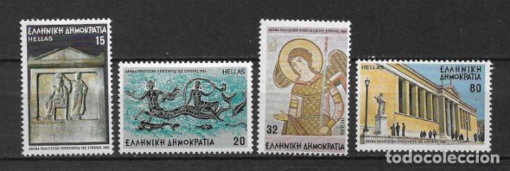 GRECIA 1985 ** MNH SC 1532-1535 (4) - 2/34 (Sellos - Extranjero - Europa - Grecia)