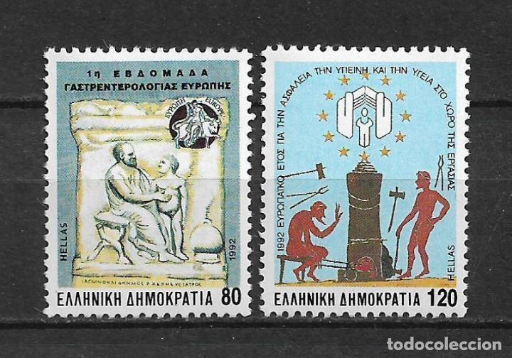 GRECIA 1992 ** MNH SC 1734 Y 1736 - 2/34 (Sellos - Extranjero - Europa - Grecia)