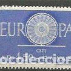 Sellos: GRECIA - CORREO 1960 YVERT 724 ** MNH EUROPA. Lote 155043084