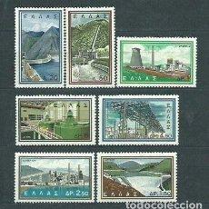 Sellos: GRECIA - CORREO 1962 YVERT 763/9 ** MNH. Lote 155043132