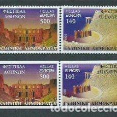 Sellos: GRECIA - CORREO 1998 YVERT 1962/5 ** MNH EUROPA. Lote 155045098