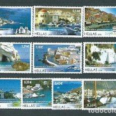 Sellos: GRECIA - CORREO 2008 YVERT 2414/23 ** MNH ISLAS GRIEGAS. Lote 155045422