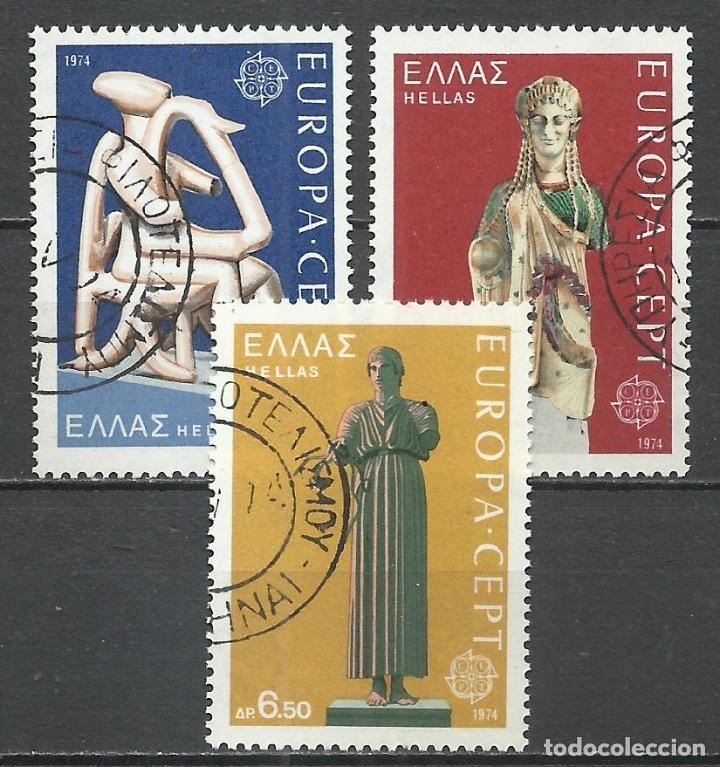 GRECIA - 1974 - MICHEL 1166/1168 - USADO (Sellos - Extranjero - Europa - Grecia)