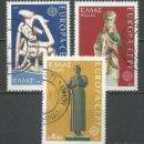 Sellos: GRECIA - 1974 - MICHEL 1166/1168 - USADO. Lote 158899238