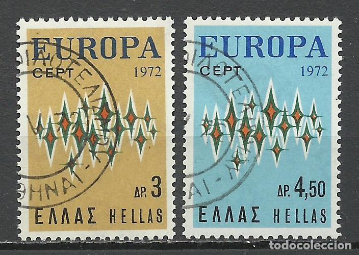GRECIA - 1973 - MICHEL 1106/1107 - USADO (Sellos - Extranjero - Europa - Grecia)