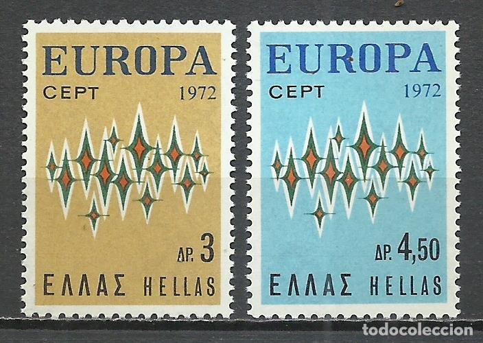 GRECIA - 1972 - MICHEL 1106/1107** MNH (Sellos - Extranjero - Europa - Grecia)