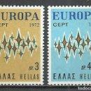 Sellos: GRECIA - 1972 - MICHEL 1106/1107** MNH. Lote 158899542