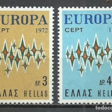 Sellos - Grecia - 1972 - Michel 1106/1107** MNH - 158899542