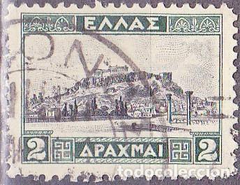 1927 - GRECIA - ACROPOLIS - ATENAS - YVERT 356 (Sellos - Extranjero - Europa - Grecia)