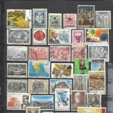 Sellos: G174E-LOTE SELLOS GRECIA SIN TASAR,SIN REPETIDOS,ESCASOS. -GREECE STAMPS LOT WITHOUT PRICING WITHOUT. Lote 164836902