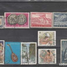 Sellos: GRECIA 1926-90 - 10 SELLOS DIFERENTES - USADOS. Lote 99691175