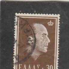 Sellos: GRECIA 1964 - YVERT NRO. 813 - USADO - ROCES. Lote 168517760