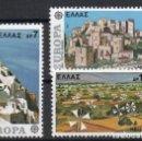 Sellos: GRECIA AÑO 1977 YV 1242/44*** EUROPA - VISTAS Y PAISAJES - TURISMO. Lote 168633904