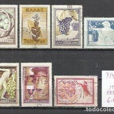Timbres: 7145C-GRECIA SERIE COMPLETA 1953 Nº58/91 USADO,BUENA CALIDAD.GREECE -GRIECHENLAND- GRECE .. Lote 174509709