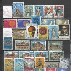 Sellos: R59-LOTE SELLOS GRECIA UNAS 14 SERIES COMPLETAS USADOS,SIN DEFECTOS,BONITOS,DIFICILES DE CONSEGUIR.. Lote 178690122