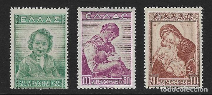 GRECIA. YVERT NSº 481/83 NUEVOS (Sellos - Extranjero - Europa - Grecia)