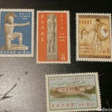 Sellos: GRECIA DEPORTES YVERT 770/3 SERIE COMPLETA NUEVO. Lote 191561615