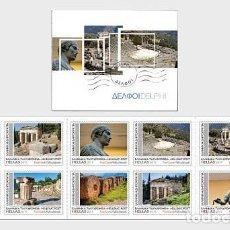 Sellos: GREECE 2019 - DELPHOI - SB - STAMP BOOKLET . Lote 195289895
