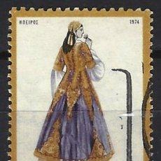 Timbres: GRECIA 1974 - SELLO USADO. Lote 195794993