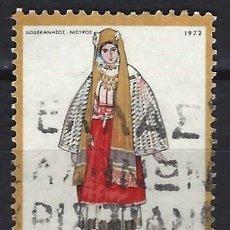 Timbres: GRECIA 1972 - SELLO USADO. Lote 195795181