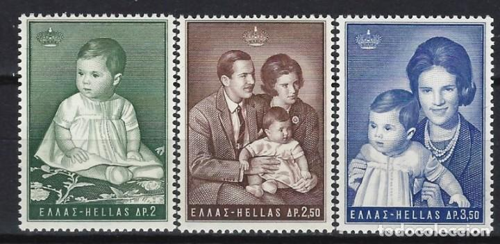 GRECIA 1966 - PRINCESA ALEXIA, S.COMPLETA - SELLOS NUEVOS ** (Sellos - Extranjero - Europa - Grecia)