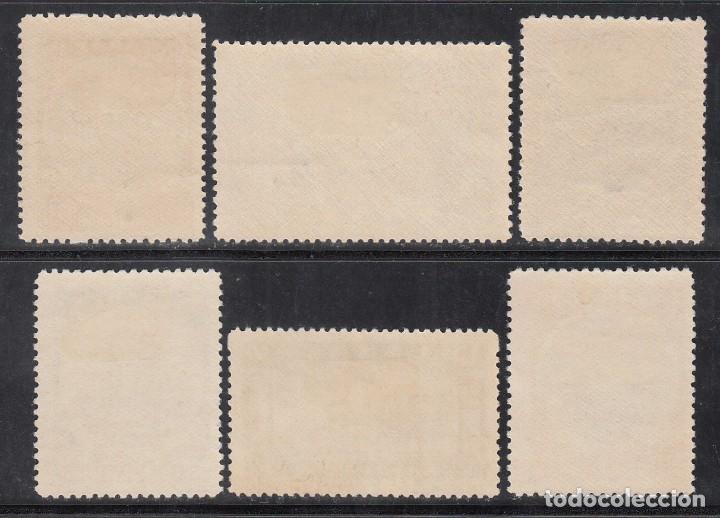 Sellos: GRECIA, 1928 YVERT Nº 369 / 374 /*/, - Foto 2 - 196212868