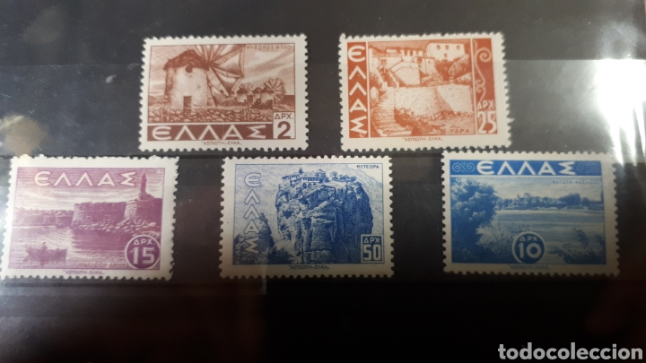 SELLOS NUEVOS DE GRECIA AÑO 1942 C344 (Sellos - Extranjero - Europa - Grecia)