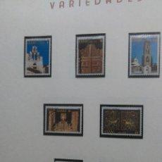 Sellos: ARTE RELIGIOSO,IGLESIAS Y RETABLOS , YVERT 1440 /6 , AÑO 1981. Lote 199196730