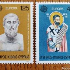 Sellos: GRECIA TEMA EUROPA CEPT AÑO 1980,MNH (FOTOGRAFÍA REAL). Lote 199287747