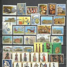 Sellos: R159-LOTE SELLOS GRECIA SIN TASAR,SIN REPETIDOS,ESCASOS. -GREECE STAMPS LOT WITHOUT PRICING WITHOUT . Lote 200191582