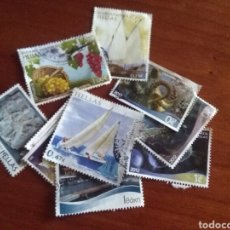 Sellos: LOTE DE 10 SELLOS DIFERENTES DE GRECIA. Lote 210648069