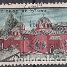 Sellos: LOTE DE SELLOS - GRECIA - IGLESIAS - (AHORRA EN PORTES, COMPRA MAS). Lote 221907405