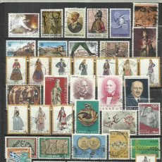 Sellos: R258-LOTE SELLOS GRECIA SIN TASAR,SIN REPETIDOS,ESCASOS. -GREECE STAMPS LOT WITHOUT PRICING WITHOUT. Lote 223488860