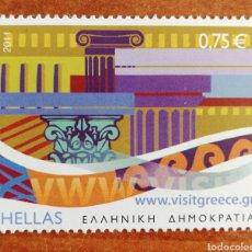 Sellos: GRECIA, TURISMO AÑO 2011 MNH**(FOTOGRAFÍA REAL). Lote 244527260